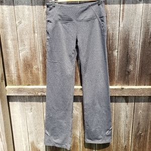 Athleta gray pants track yoga small workout